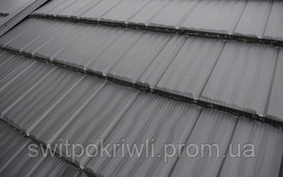 Модульная металлочерепица Novatik Wood