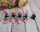 Маленькие детские крабики для волос Свинка Пеппа 5 шт/уп, фото 3