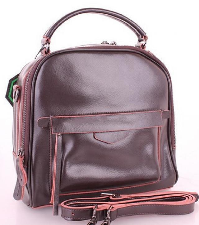 6efe81ae6e37 Женский кожаная сумка клатч Galanty 10640 Coffee женские клатчи из натуральной  кожи купить недорого -