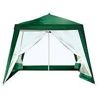 Павильон-шатер садовый, москитная сетка на молниях, 3х3 метра