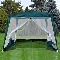 Тент (шатер) с москитной сеткой садовый 3x3