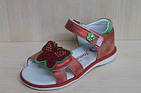 Босоножки на девочку закрытая пятка, детская летняя обувь тм Tom.m р. 21
