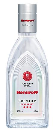 Настойка Nemiroff Premium Клюква 0.7л, фото 2