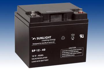 Аккумуляторная батарея SunLight SPb 12-40, фото 2