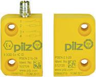 502224 магнітні захисні вимикачі PILZ PSEN 2.1p-24/PSEN2.1-20/8mm/LED/EX/1unit , фото 2