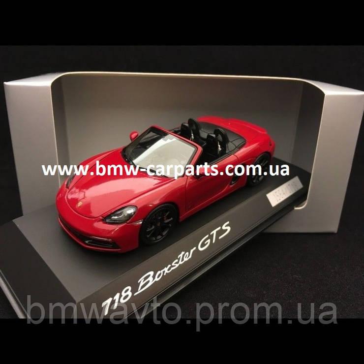 Модель автомобиля Porsche 718 Boxster GTS, 1:43, Limited Edition, фото 2