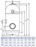 Песочный фильтр Hayward HCFS252I2LVA San Sebastian SSB640 (12,8 м³), фото 5