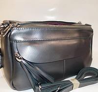 cce4eff356cb Женский кожаная сумка клатч 982 pearl gray женские клатчи из натуральной  кожи купить недорого