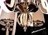 Класична люстра з підсвіткою корпуса 40W, фото 7