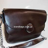 2522d01b7809 Женский кожаная сумка клатч 979 coffee женские клатчи из натуральной кожи  купить недорого