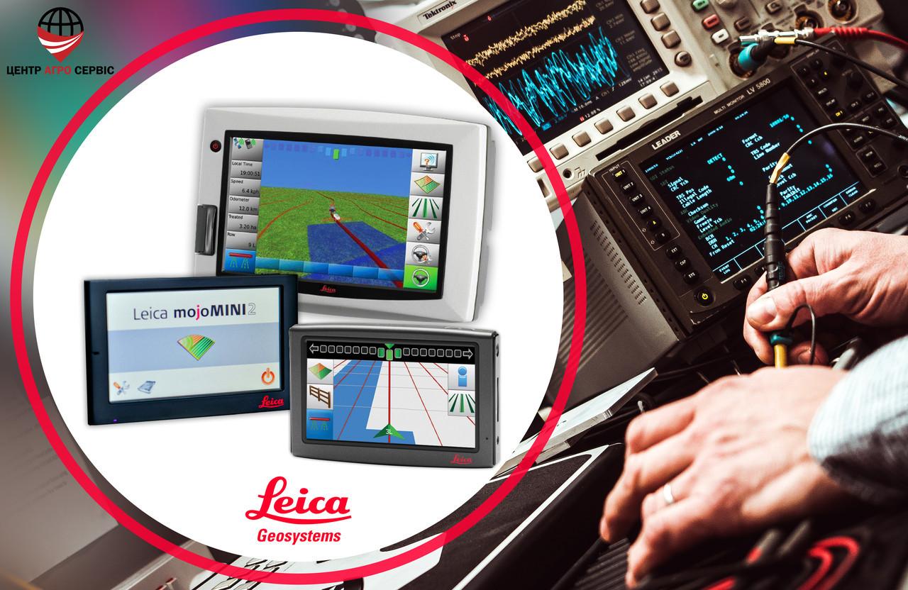 Діагностика, ремонт, прошивка курсовказівника (агронавигатора, навігатора для поля) LEICA