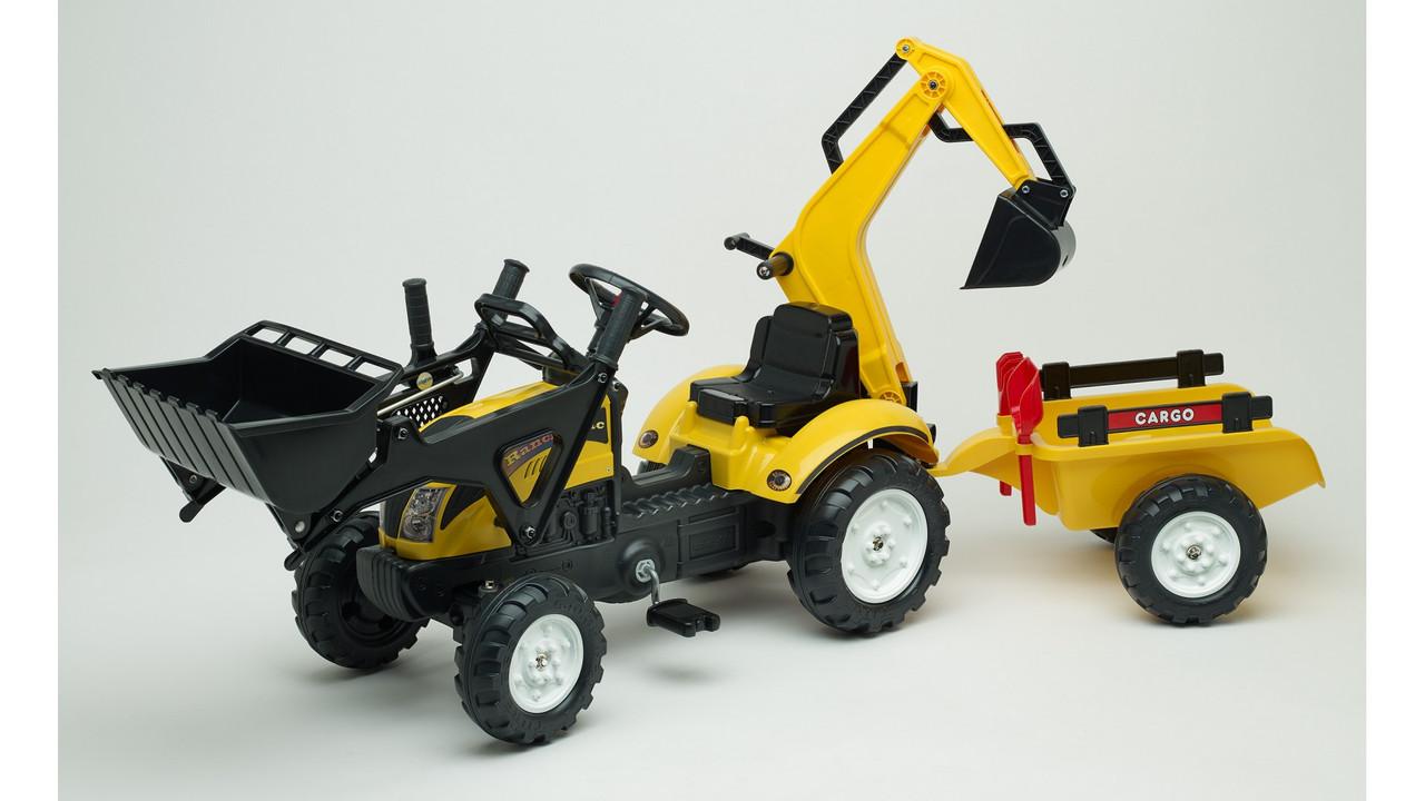 Детский трактор на педалях Falk 2055CN RANCH TRAC