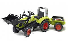 Педальний Трактор з Причепом і Ковшем Claas Arion 430 Falk 1040АМ