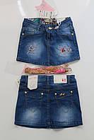 Джинсовая юбка для девочек  4- 6- 10-  14  лет  Польша