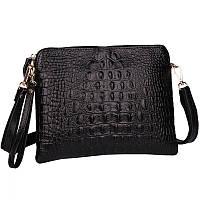 Женская кожаная  сумка Bossir Croсodile