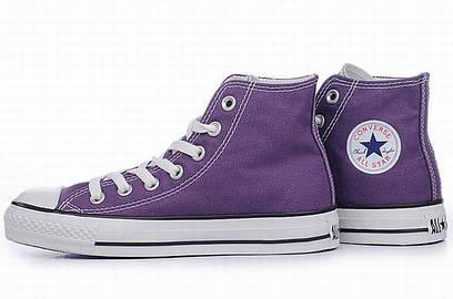 Кеды Converse All Star фиолетовые