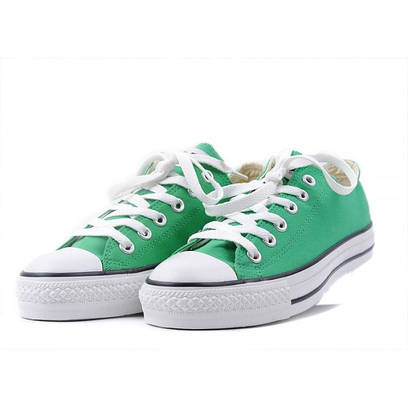 Кеды Converse All Star Low зеленые