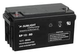 Акумуляторна батарея SunLight SPb 12-80