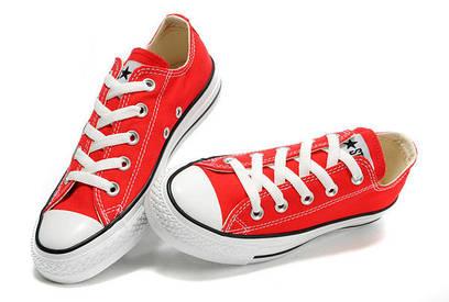 Кеды Converse All Star Low красные
