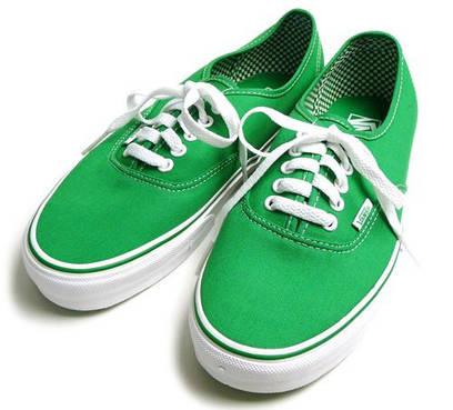 Кеды Vans Classic Canvas зеленые