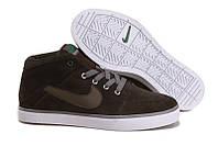 Кеды Nike Suketo Mid Leather хаки