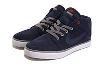 Кеды Nike Suketo Mid Leather синие