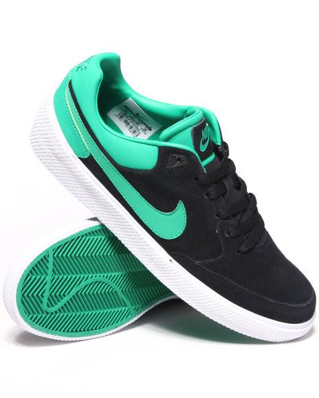 Кеды Nike Street Gato AC замшевые черно-зеленые - «Riccardo» -  мультибрендовый интернет f11e27d702c