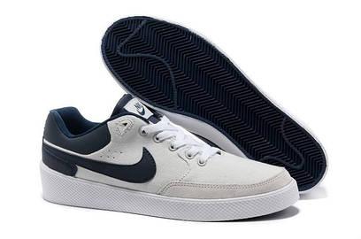 Кеды Nike Street Gato AC тканевые светло-серо-синие