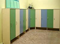 Шкафчики для переодеваний 4-х секционные