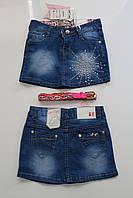 Джинсовая юбка для девочек 8 лет. Польша (140) РОСТ