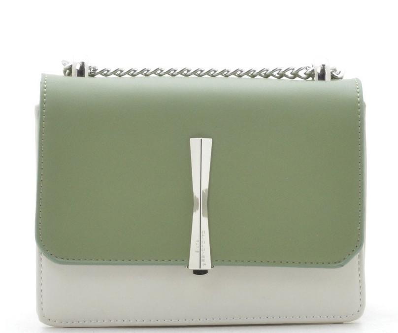 f8a54ead88d1 Женский клатч David Jones CM5015T white/green купить сумочку-клатч ДЕВИД  ДЖОНС -