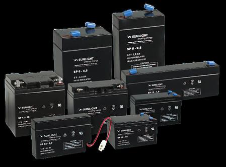 Аккумуляторная батарея SunLight SPb 12-100, фото 2