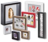 Футляры и рамки для монет и красивых вещей