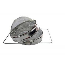 Двухсекционный фильтр Д-200 мм (оцинкованная сталь)