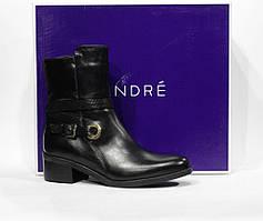 Брендовые кожаные ботинки Andre, Оригинал