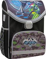 Рюкзак шкільний каркасний Max Steel MX15-529S, фото 1