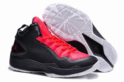 Кроссовки Jordan Super.Fly 2 PO AnthraciteInfrared 23-Nero-Bianco