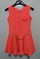 Платье на девочку 2- 4- 6- 8 лет. коралловый,малиновый,мятный,розовый Польша