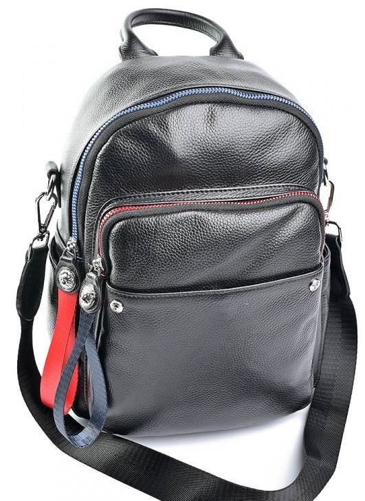 32ee4a4cf80f Женский кожаный рюкзак NO-F163 Black кожаные рюкзаки купить в Одессе 7 км