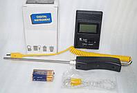 Цифровой термометр TM-902C с термопарой К-типа (до +800°C), фото 1