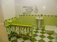 Вешалка для полотенец  напольная на 25 крючков