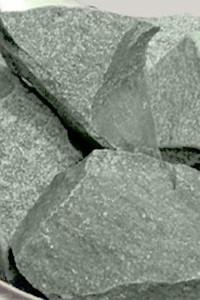 Камень для бани жадеит колотый средний в мешке Хакасия