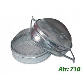 Двухсекционный фильтр Д-170 мм (нержавейка)