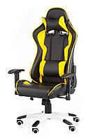 Геймерское кресло ExtremeRace black/yеllow, TM Technostyle-Pro