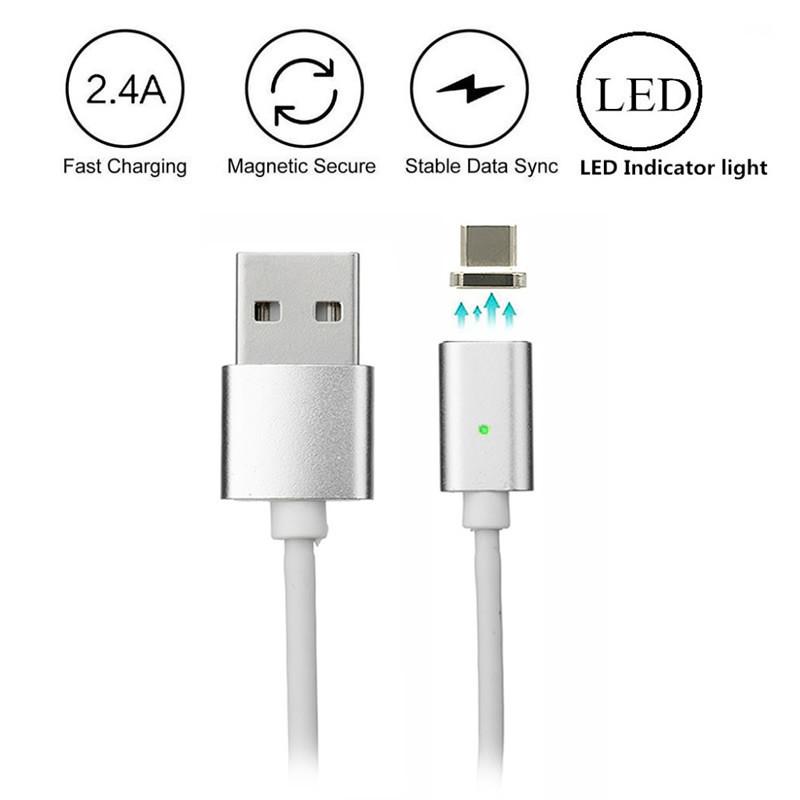 Магнитный Шнур Data кабель для зарядки USB - micro USB magnetic cable  DM-M15