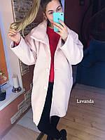 Пальто женское демисезонное букле барашек в разных цветах, фото 1