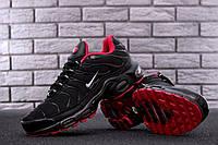 Мужские кроссовки в стиле Nike Air Max Tn Black (Реплика ААА+), фото 1