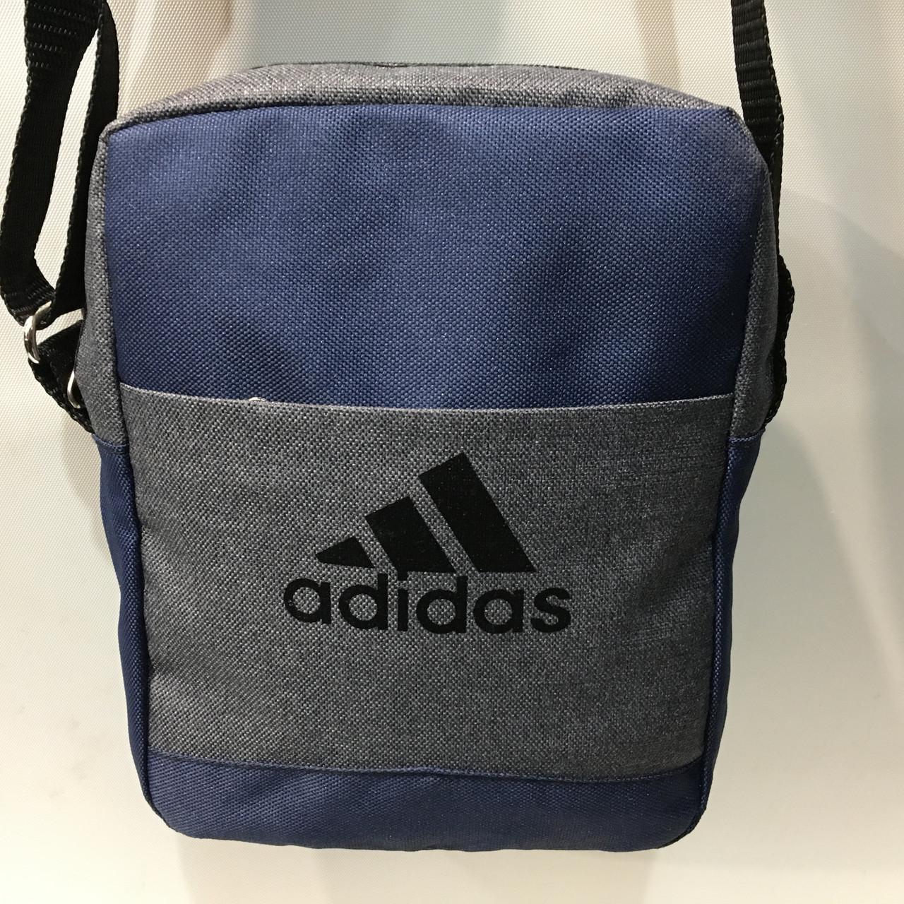 a986bf6ac801 Высококачественная мужская сумка через плече. Удобная, практичная сумка  Adidas оптом