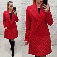 Красное Женское Пальто — Купить Недорого у Проверенных Продавцов на ... 86a17207d2f36
