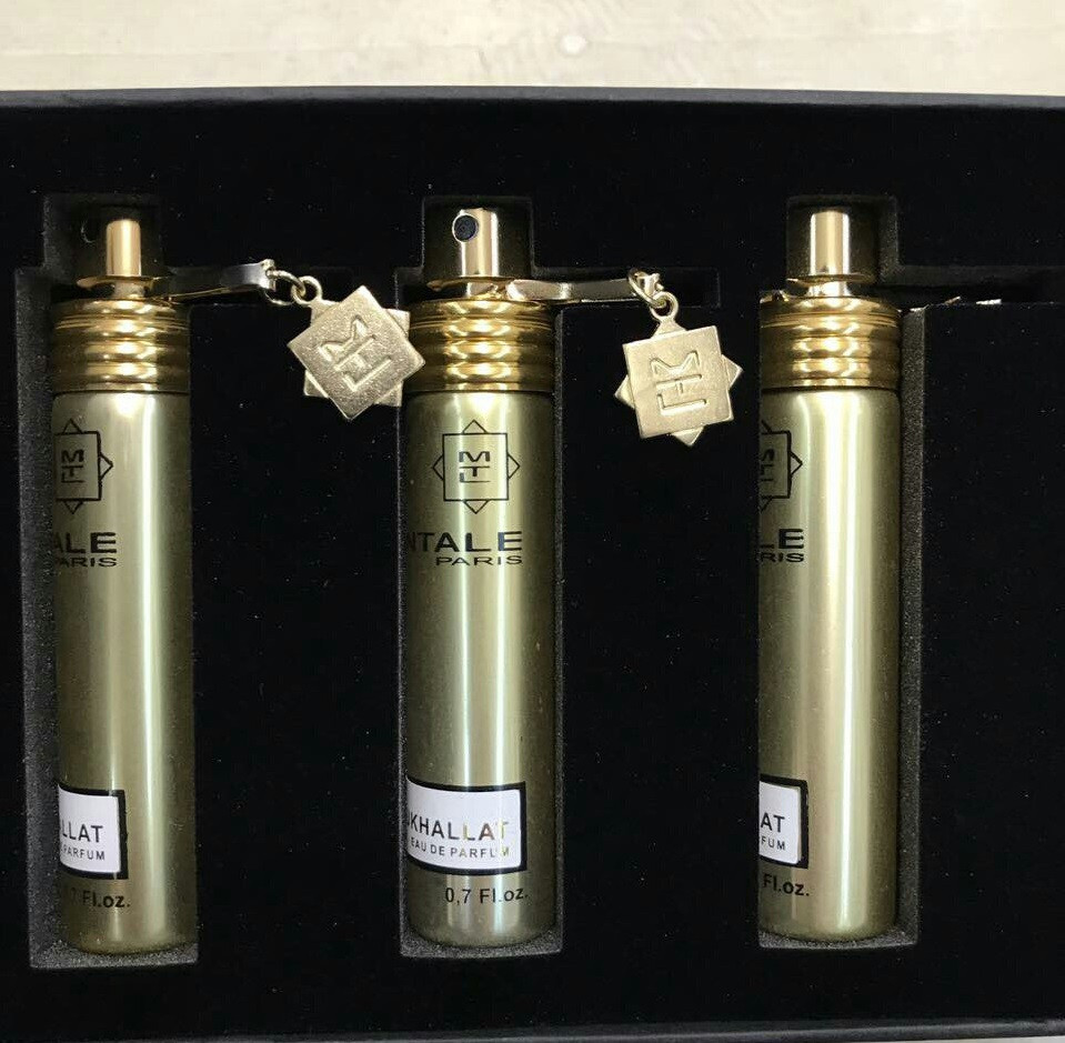 Подарочный набор парфюмерии Montale Mukhallat 3 по 15 мл